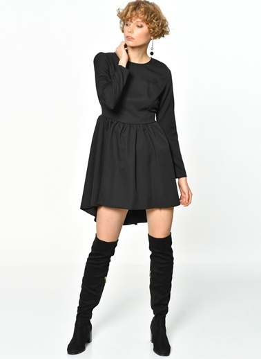 Lydc Elbise Siyah